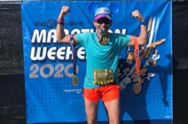 Travelling Fit – Walt Disney World Marathon 2020 #travellingfit #runtheworld #waltdisneyworldmarathon