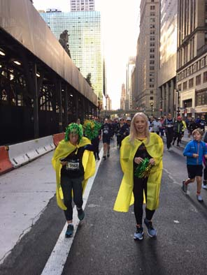 Travelling Fit - New York 2017 - #travellingfit #runtheworld #tcsnycmarathon
