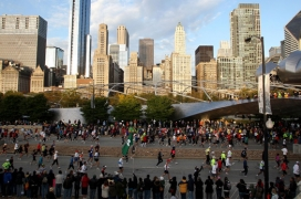 Chicago Marathon - Travelling Fit #travellingfit #chicagomarathon #runtheworld