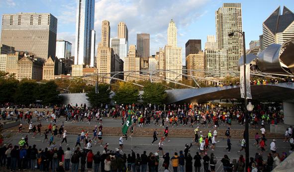 Chicago Marathon - Travelling Fit #travellingfit #chicagomarathon #runtheworld