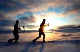 Travelling Fit - Polar Circle Marathon #travellingfit #runtheworld #polarcirclemarathon #pcm